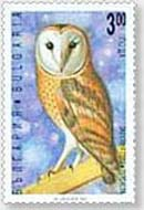 Barn Owl Stamp